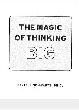 The magic of thinking Big poster