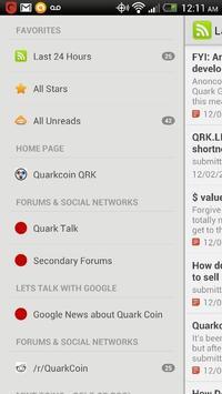 Quarkcoin News Pre-Beta Access apk screenshot