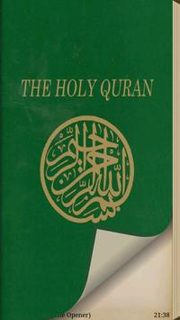 The Quran poster