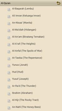 Al-Quran dalam Bahasa Melayu apk screenshot