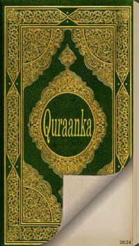 Quraan (Quran in Somali) poster
