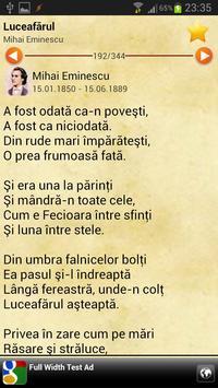 Poezii Romanesti apk screenshot