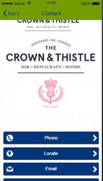 Crown and Thistle Abingdon apk screenshot