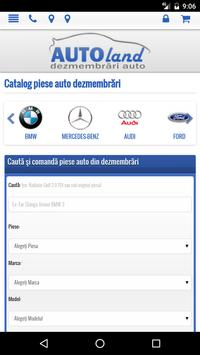 Auto parts Dismantle Romania poster