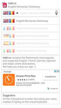 hallo.ro Dictionary poster