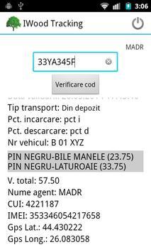 IWood Tracking apk screenshot