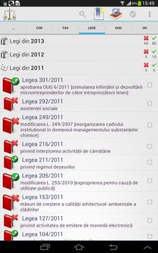 Legislativ apk screenshot