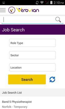 Verovian Locum Recruitment apk screenshot