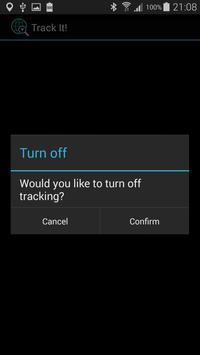 Track It! apk screenshot