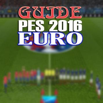 Guide PES 2016 EURO poster