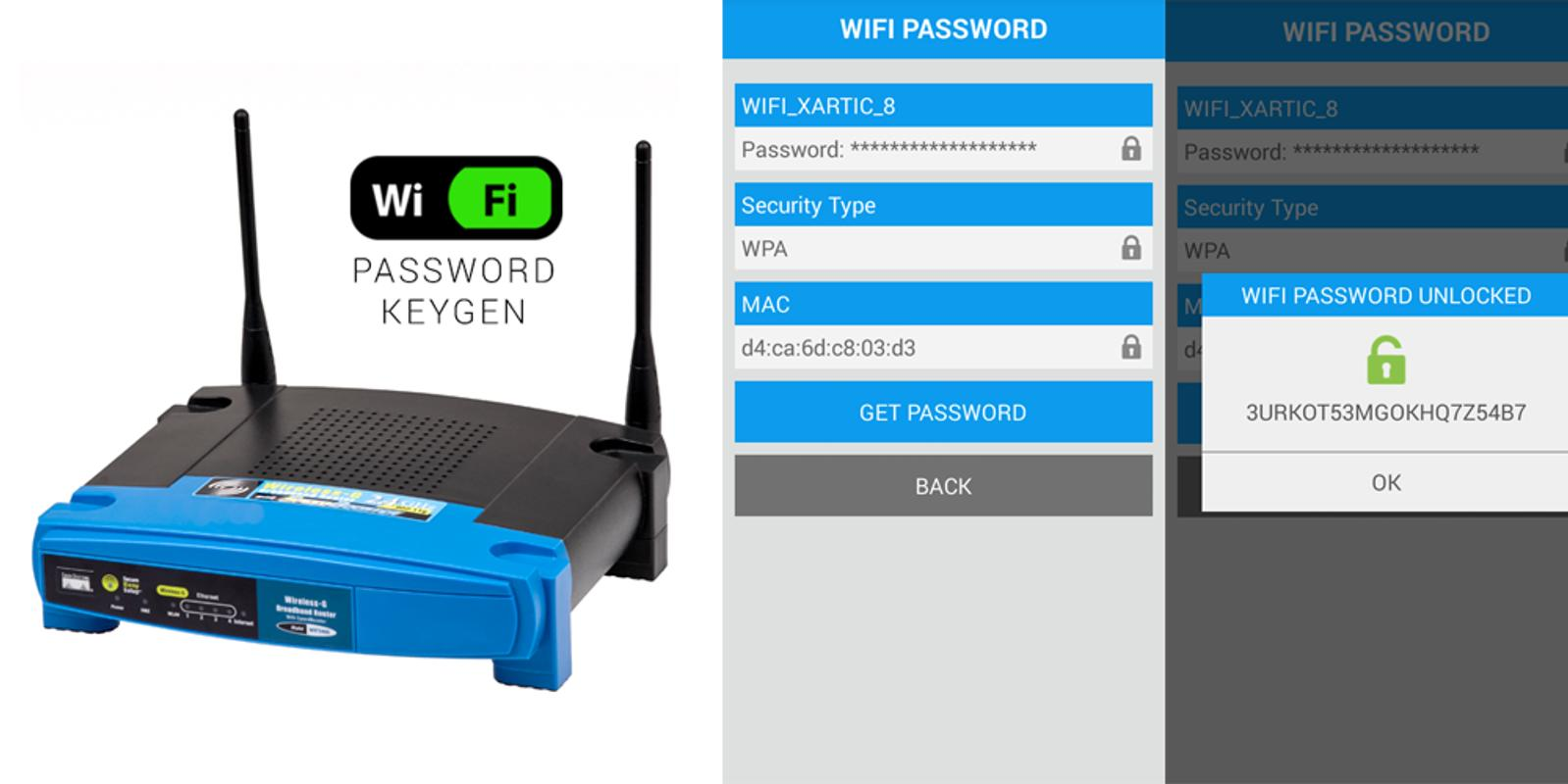 Wifi Router keygen Android Apk