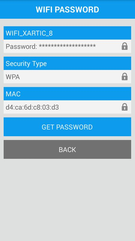 how to get wifi password using android