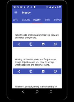 Moody - Sms & Message apk screenshot