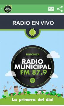 RADIO MUNICIPAL CASTELLI poster