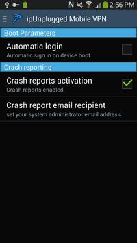 ipUnplugged Mobile VPN apk screenshot