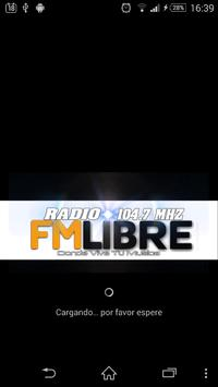 Radio Libre 104.7 apk screenshot