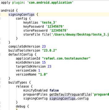 TesteLauncher apk screenshot