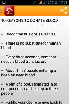 Indian Blood donation Info apk screenshot