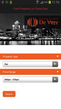 De Vere Property Finder poster