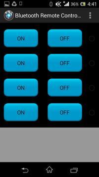 BLUETOOTH REMOTE CONTROLLER apk screenshot