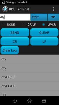 Bluetooth Terminal apk screenshot