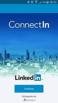 ConnectIn Italia 2016 poster