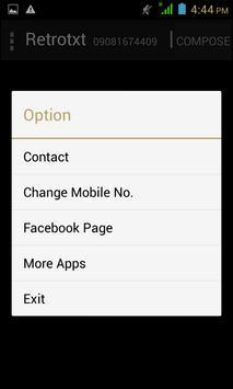 RetroTxt apk screenshot