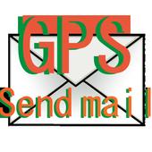 GPS transmitter mail icon