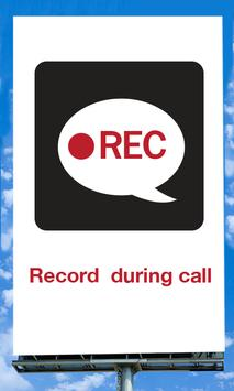 Record  During Call poster