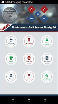 Fan app : Batman Arkham Knight poster