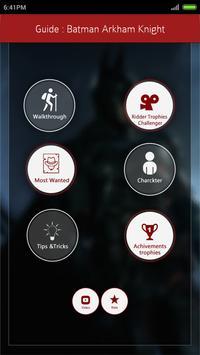 Guide for Batman Arkham Knight poster