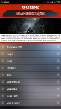 Guide for Bloodborne poster