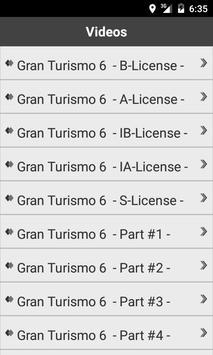 Guide for Gran Turismo 6 apk screenshot