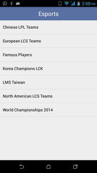 Guide for League of Legends apk screenshot