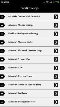 Guide for Metal Gear Solid 5 apk screenshot