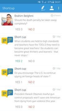 Shortcup apk screenshot