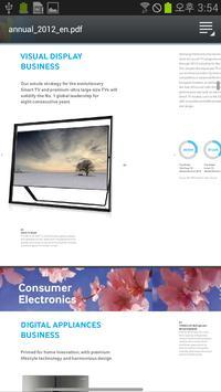 Samsung Annual Report apk screenshot