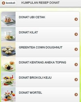 Donat Lezat apk screenshot
