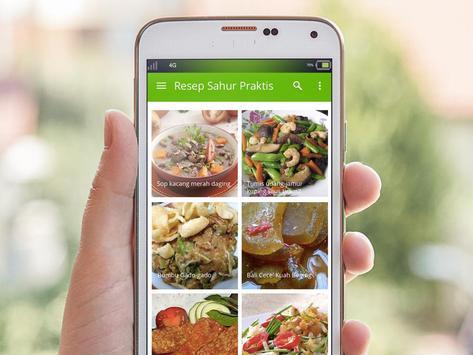 90+ Resep Sahur Praktis & Tips apk screenshot