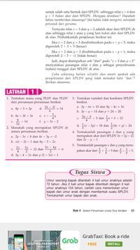 Buku Matematika 8 SMP apk screenshot
