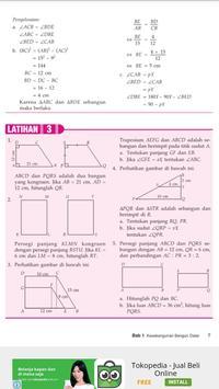 Buku Matematika 9 SMP apk screenshot