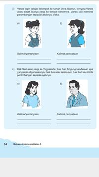 Buku Bahasa Indonesia 5 SD apk screenshot