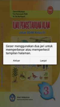 Buku IPA 3 SD apk screenshot