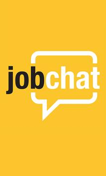 JobChat poster