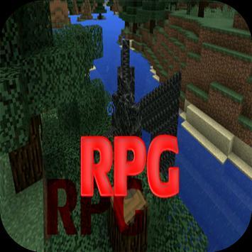 RPG Craft Mod Minecraft PE poster