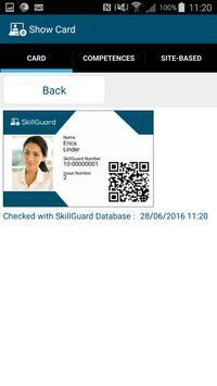 SkillGuard QR apk screenshot