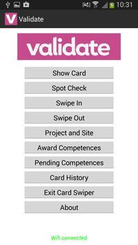 Validate NFC apk screenshot