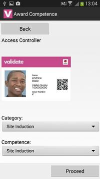 Validate QR apk screenshot