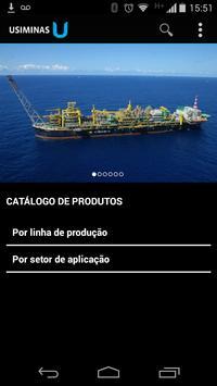 Catálogos de Produtos Usiminas poster