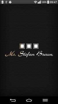 Mr. Stefan Braun Party App poster